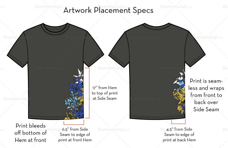 How to prepare artwork for t shirt screen printing for Company logo t shirt printing