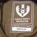 t shirt tags dance party massacre