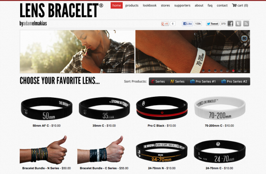 10 best bigcartel store examples lensbraceletbigcartel pronofoot35fo Images